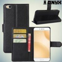 Чехол книжка для Xiaomi Mi 5c - Черный