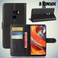 Чехол книжка для Xiaomi Mi Mix 2 - Черный
