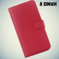 Чехол книжка для Xiaomi Redmi Note 2 - Красный