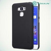 Чехол накладка Nillkin Super Frosted Shield для Asus ZenFone 3 Max ZC553KL  - Черный