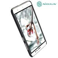 Чехол накладка Nillkin Super Frosted Shield для Asus Zenfone 3 ZE520KL - Черный