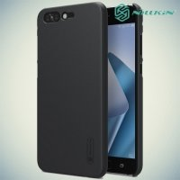 Чехол накладка Nillkin Super Frosted Shield для Asus Zenfone 4 Pro ZS551KL - Черный