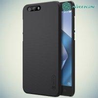 Чехол накладка Nillkin Super Frosted Shield для Asus ZenFone 4 ZE554KL - Черный