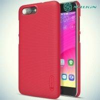 Чехол накладка Nillkin Super Frosted Shield для ASUS Zenfone ZC550TL X015D - Красный