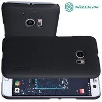 Чехол накладка Nillkin Super Frosted Shield для HTC 10 / 10 Lifestyle - Черный
