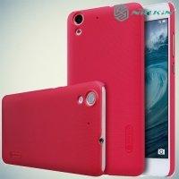 Чехол накладка Nillkin Super Frosted Shield для Huawei Y6 II - Красный