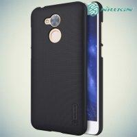 Чехол накладка Nillkin Super Frosted Shield для Huawei Honor 6A - Черный