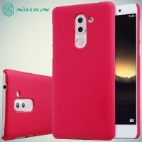 Чехол накладка Nillkin Super Frosted Shield для Huawei Honor 6x - Красный