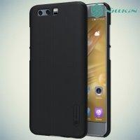 Чехол накладка Nillkin Super Frosted Shield для Huawei Honor 9 - Черный