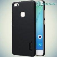 Чехол накладка Nillkin Super Frosted Shield для Huawei P10 Lite - Черный