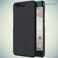 Чехол накладка Nillkin Super Frosted Shield для Huawei P10 Plus - Черный