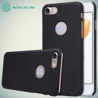 Чехол накладка Nillkin Super Frosted Shield для iPhone 8/7 - Черный