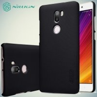 Чехол накладка Nillkin Super Frosted Shield для Xiaomi Mi 5s Plus - Черный