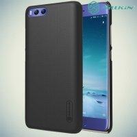 Чехол накладка Nillkin Super Frosted Shield для Xiaomi Mi 6 - Черный