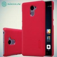 Чехол накладка Nillkin Super Frosted Shield для Xiaomi Redmi 4 - Красный