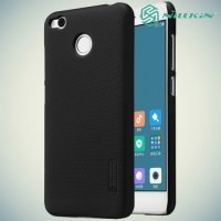 Чехол накладка Nillkin Super Frosted Shield для Xiaomi Redmi 4X - Черный