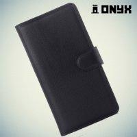 Чехол книжка для Huawei Honor 7 - Черный