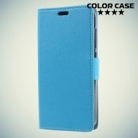 ColorCase флип чехол книжка для Alcatel One Touch U5 4G 5044D - Голубой