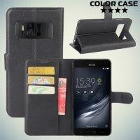 ColorCase флип чехол книжка для Asus Zenfone AR ZS571KL - Черный