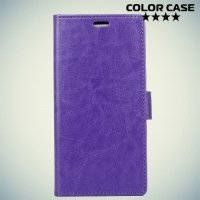 ColorCase флип чехол книжка для Google Pixel 2 XL - Фиолетовый