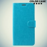 ColorCase флип чехол книжка для HTC U11 - Голубой