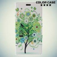 ColorCase флип чехол книжка для Huawei Honor 6C Pro - Дерево счастья