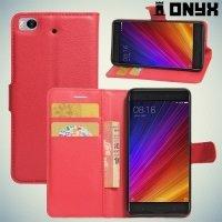 ColorCase флип чехол книжка для Xiaomi Mi 5s - Красный