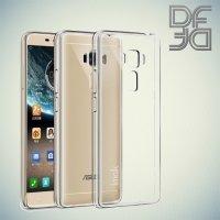 DF aCase силиконовый чехол для Asus ZenFone 3 Laser ZC551KL - Прозрачный