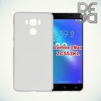DF aCase силиконовый чехол для Asus ZenFone 3 Max ZC553KL  - Прозрачный