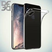DF aCase силиконовый чехол для iPhone X - Прозрачный
