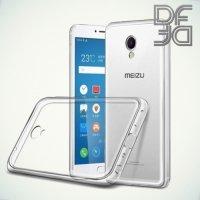 DF aCase силиконовый чехол для Meizu M3E - Прозрачный