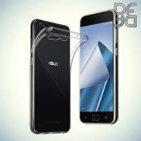 DF Case силиконовый чехол для Asus Zenfone 4 Pro ZS551KL - Прозрачный