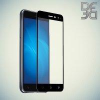 DF Закаленное защитное стекло на весь экран для Asus Zenfone 3 ZE520KL - Черный