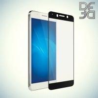 DF Закаленное защитное стекло на весь экран для Huawei Honor 6A - Черный