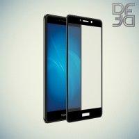 DF Закаленное защитное стекло на весь экран для Huawei Honor 6x - Черный
