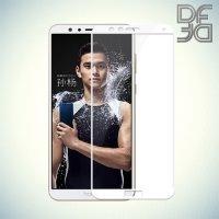 DF Закаленное защитное стекло на весь экран для Huawei Honor 7X - Белый