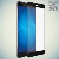 DF Закаленное защитное стекло на весь экран для Huawei P9 - Черный