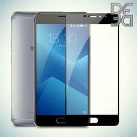 DF Закаленное защитное стекло на весь экран для Meizu M6 - Черный