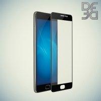 DF Закаленное защитное стекло на весь экран для Meizu Pro 6 Plus - Черный