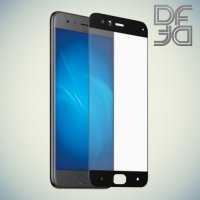 DF Закаленное защитное стекло на весь экран для Xiaomi Mi 6 - Черный