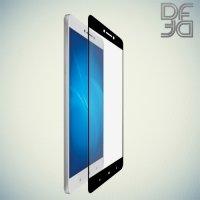 DF Закаленное защитное стекло на весь экран для Xiaomi Mi Max - Черный