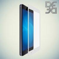 DF Закаленное защитное стекло на весь экран для Xiaomi Redmi 4 - Белый