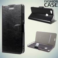 Fashion Case чехол книжка флип кейс для Xiaomi Redmi Note 5A 3/32GB - Черный