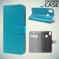 Fasion Case чехол книжка флип кейс для HTC Desire 10 pro - Синий