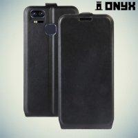Флип чехол книжка для Asus ZenFone 3 Zoom ZE553KL - Черный