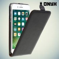 Флип чехол книжка для iPhone 8 Plus / 7 Plus  - Черный