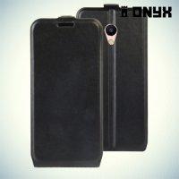 Флип чехол книжка для Meizu M5s - Черный