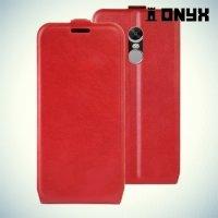 Флип чехол книжка для Xiaomi Redmi Note 4X - Красный