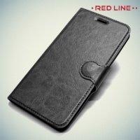 Red Line чехол книжка для Huawei Honor 4x - Черный