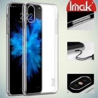 IMAK Пластиковый прозрачный чехол для iPhone X